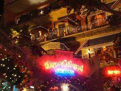 デポアイランドもすごく可愛いんだけど暗くて上の方のディスプレイがみえないよね。 ここはまだクリスマス真っ最中なのだ!!!