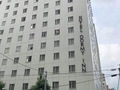 熊本の宿泊は「ドーミーイン熊本」。