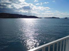 前島まで10分足らずの船の旅。