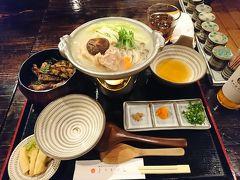 とりまぶし水炊き御膳 水炊きもとりまぶしも食べたかったけど、福岡での食事タイムは1回しかない私にとってもありがたいメニューです。