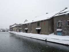 小樽運河倉庫群。