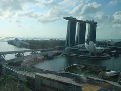 おはようございます!。とうとうシンガポールも最終日。 朝からこの景色が見られてうれしいよー♪。