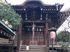 浜町公園内にある加藤清正を祀った神社