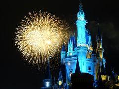35周年のテーマソング「Brand New Days」の曲に合わせて花火が盛大に打ち上がりました。プラザから見るとシンデレラ城越しに花火が楽しめます。  以上が35周年のディズニークリスマス 2Daysでした。 最後までご覧頂きありがとうございました! (ホテルステイの宿泊記編は現在作成中です)