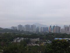 屏山鄧族文物館からの風景