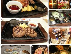 ステーキガスト西掛川店で夕食