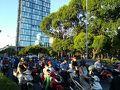 ベトナム名物?バイクの多いこと!  ヤンゴンと比べると随分都会に感じます。