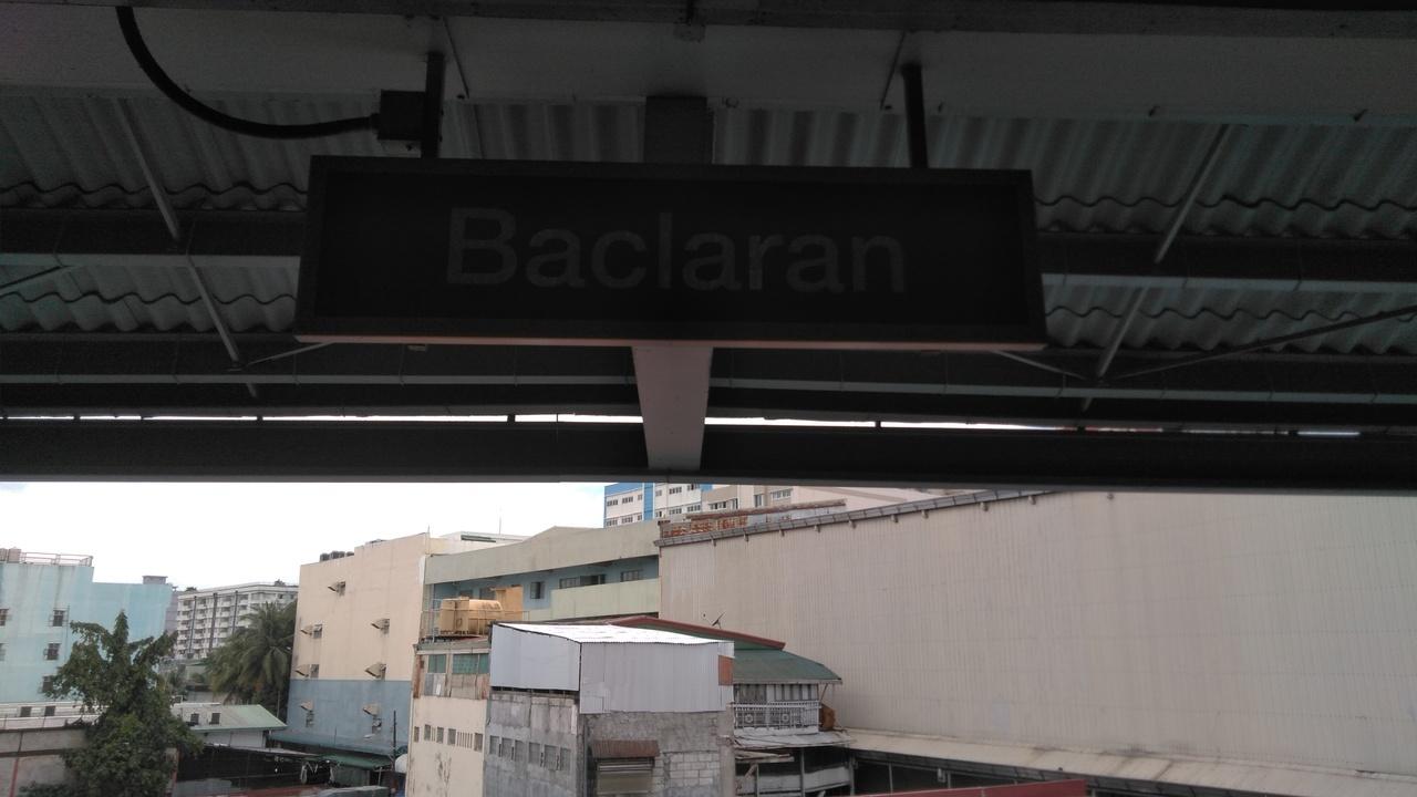 時間はないが、なんか焦がれてたバクラランの駅名標は撮った!