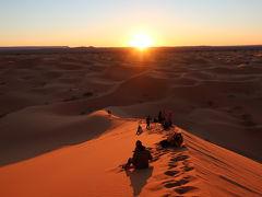 3日目、8:30サハラ砂漠で感動の日の出を鑑賞