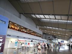 伊丹からエンブラエル(小型機)で約1時間 あっという間に新潟空港へ到着 地方空港ならではのこじんまり感・・・イイです♪