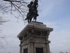 ついに政宗公騎馬像とご対面!