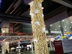 小倉駅はイルミネーションが綺麗でした。