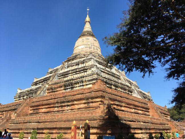 サンドーとは、ビルマ語で「聖髪」を意味し、この仏塔のなかに釈迦の髪の毛が収められていたらしい。