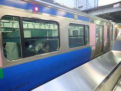 石巻からおよそ1時間で終点仙台駅に着きました。