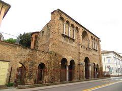 Palazzo di Teodorico 入場は出来なかった(入場口がわからなかった)
