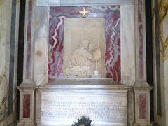 ダンテのお墓 サン・フランチェスコ聖堂の横にある Dante's Tomb Tomba di Dante