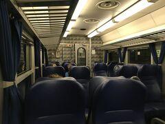 帰り ラベンナからボローニャへ戻る列車