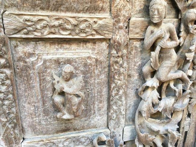 この彫り物一つ、素晴らしい。クオリティも最高。<br />ミャンマーらしくない!と言ったら失礼だが、細かくて美しい。