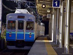 という訳で、やって来ましたのは伊豆熱川駅 伊豆諸島の島々が映える車窓ビューポイントの手前にあるこの駅で下車してみました