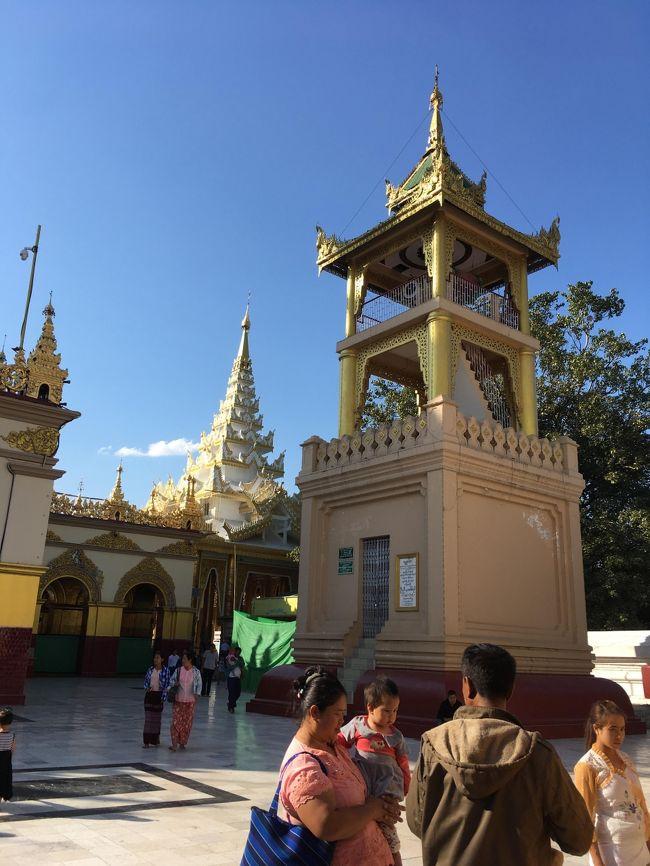 それぞれの建物も紹介してくれるのだが、ミャンマー訛りがきつくて単語もあんまり聞き取れない。