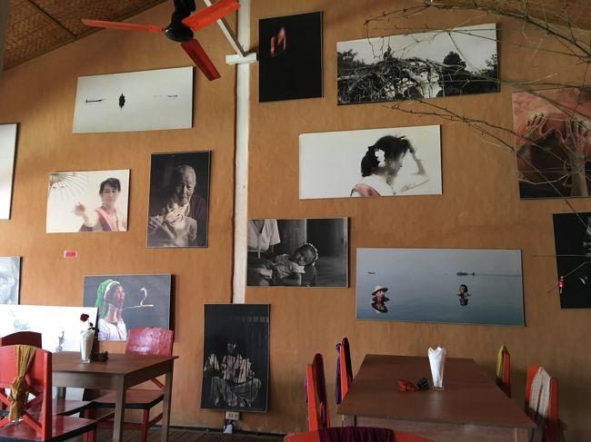 なかなか独特な感性で撮られた写真が店内を彩る。<br />ベーカリーレストランだけあって、良い匂い。