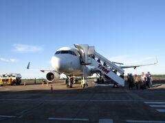 ブラジル>パラナ>フォス ド イグアス空港 到着しました。