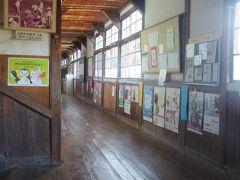 昭和24年建設の木造校舎でナント今も現役です!