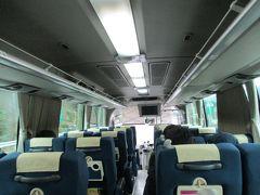 高速バスは、三連休の最終日・最強の寒気団接近によって、ガラガラ状態です。
