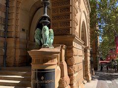 駅から5分ほど歩いたところに今回の宿泊先、インターコンチネンタル・ホテル・シドニーがあります。立地条件は申し分ないですねー ('ヮ' )