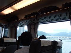 江の川を渡ります。  ああ、三江線懐かしい。