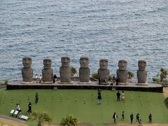 【サンメッセ日南】   ・入園料 一般700円 ・営業時間 9:30~17:00  ・高さ5.5m 重さ1体約18~20トン イースター島から唯一復元・設置を許可されている原寸大のモアイ像を見られます。