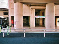 名鉄津島線藤浪駅。なんと無人駅でした(驚)。