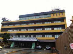 12時35分、今日の宿泊先、大江戸温泉物語 あわら に到着。