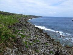 ボロジノニシキソウが群生する海岸線は、天然記念物だとか・・・