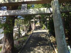 伊豆山神社です!  ここは熱海梅園から5kmほど離れた山の中腹にあります。