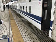 米原からは、新幹線に乗り換えて、名古屋まで~  新幹線に乗車するのは何年ぶりでしょう??  ひかり524号(N700系)米原 14:57 →  15:25 名古屋   米原から 僅か30分足らずで 名古屋駅へ到着します。