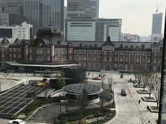 ランチ 東京駅を眺めながら贅沢ランチ
