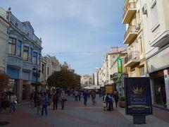 プロブディフ一番の繁華街