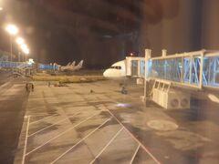 ニュースでも見ていたので気になっていましたが、天河空港は除雪もされていて問題なく到着しました。