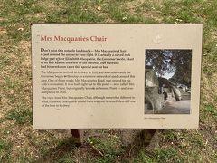 ミセス・マックウォーリーズチェアって、単にベンチかなにかが芝生の上に置いてある、眺めの良い場所的ななにかと思っていましたー('ヮ' )(←下調べをまったくしていないので、勝手なイメージを持ってる)