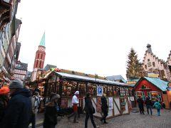 そしてレーマー広場へ! クリスマスマーケットのメイン会場のひとつです. ここは観光客が多く,日本人の団体客もたくさんいました.