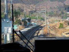♪まもなく~祖母島です。 祖母島駅は吾妻線で一番乗降客が少ない駅です。