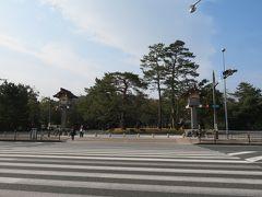 伊勢市駅から外宮までは思った以上に歩いた気がします。