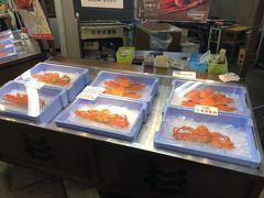 近江町市場にはカニがたくさん!