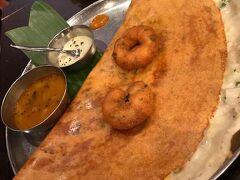 都内に出て、八重洲のインド料理屋でランチ