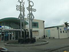 マリーンパレードにある観光案内所(i-SITE)も、お洒落なデザインの建物です。