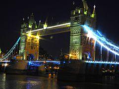 ロンドンの夜景散策へ