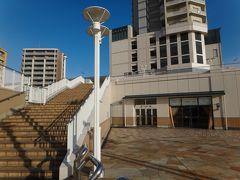 外階段で3階の展望広場へ。