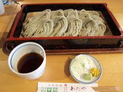 イベント終了後近くのお蕎麦屋(   http://www.watayasoba.co.jp/store.html#stores   )さんで・・・。