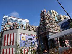 ホテルの前にはスリ・ヴィラマカリアン寺院